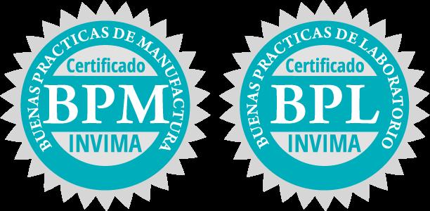 certificado de calidad productos odontológicos invima bpm y bpl