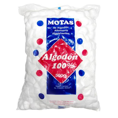 algodon motas