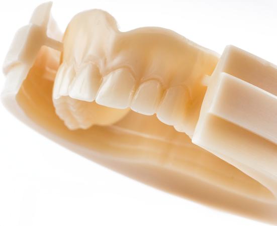 disco multicapa pmma cam cam fresado diente dentadura