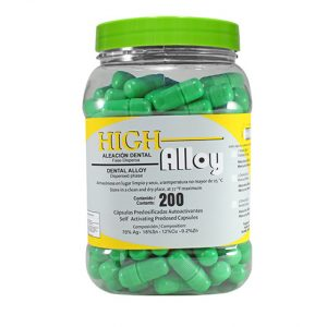 aleacion amalgama high alloy