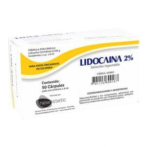 anestesico dental anestesia lidocaina 2%