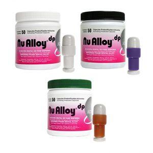 aleacion amalgama nu alloy dp active