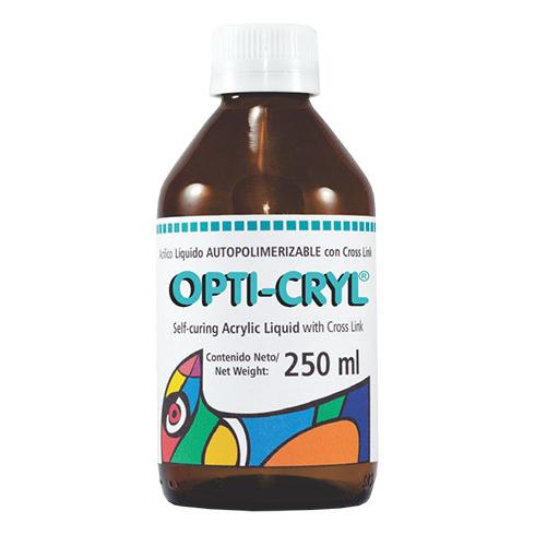 resina acrilica opti-cryl autopolimerizable