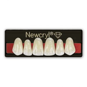 plaqueta anterior superior newcryl