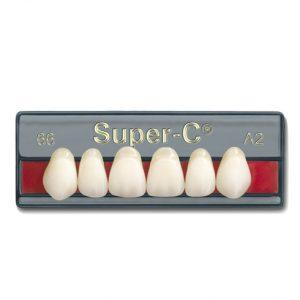 plaqueta anterior superior super-c