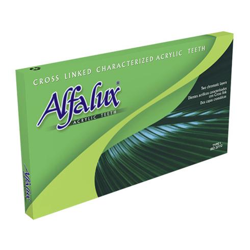 dientes acrilicos alfalux