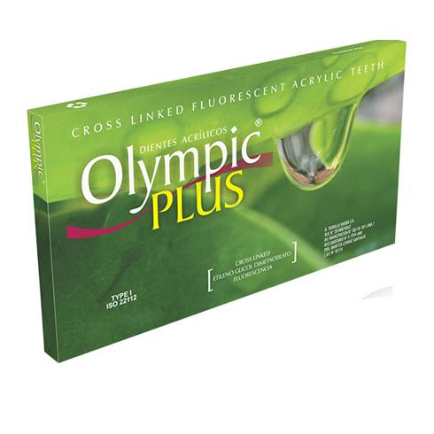 dientes acrilicos olympic plus