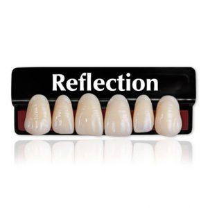 plaqueta anterior superior reflection