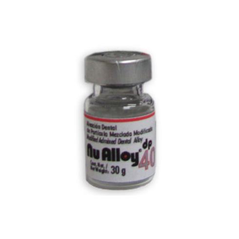 aleacion amalgama nu alloy dp 40