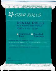 algodon star rolls trezando liso